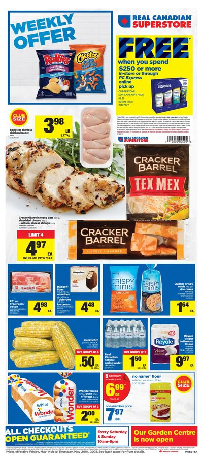 Real Canadian Superstore (West) Flyer May 14 to 20