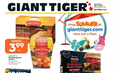 Giant Tiger Canada Flyer Deals May 12th – 18th