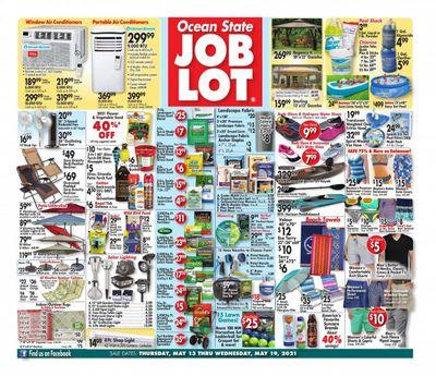 Ocean State Job Lot (CT, MA, ME, NH, NJ, NY, RI) Weekly Ad Flyer May 13 to May 19