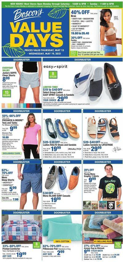 Boscov's (CT, DE, MD, NJ, NY, PA) Weekly Ad Flyer May 13 to May 19