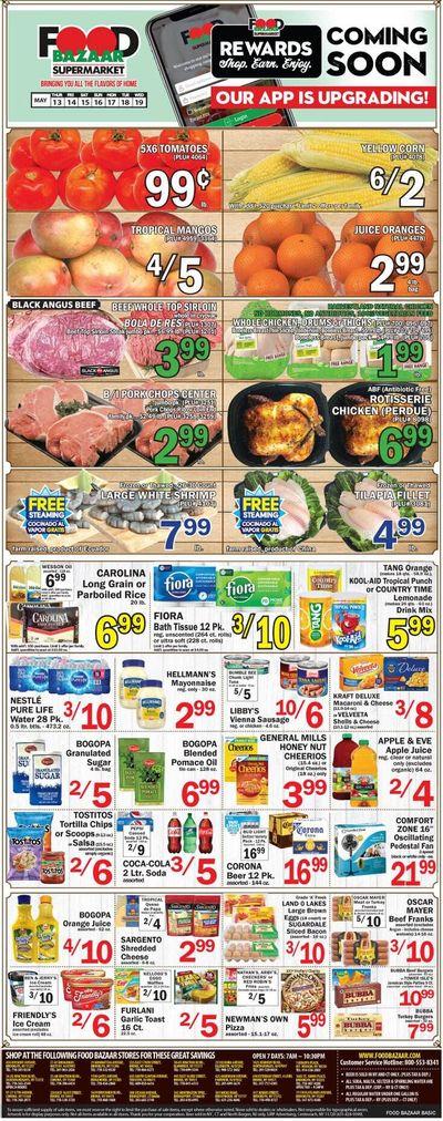 Food Bazaar (CT, NJ, NY) Weekly Ad Flyer May 13 to May 19