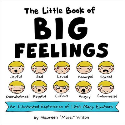 The Little Book of Big Feelings: An Illustrated Exploration of Life's Many Emotions $18.72 (Reg $19.99)