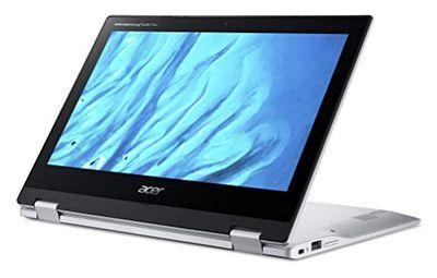 "Acer Convertible Chromebook, 11.6"" IPS Touch, Convert MTK MT8183 Processor, 4GB RAM, 32GB eMMC, Chrome OS, Silver, CP311-3H-K4S1 $299 (Reg $460.99)"