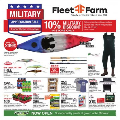 Fleet Farm (IA, MN, ND, WI) Weekly Ad Flyer May 14 to May 22