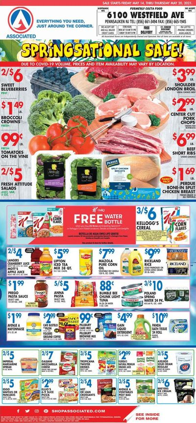 Associated Supermarkets (NY) Weekly Ad Flyer May 14 to May 20