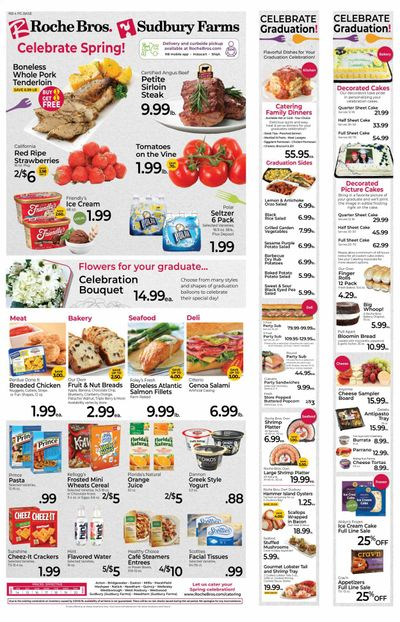 Roche Bros. (MA) Weekly Ad Flyer May 14 to May 20