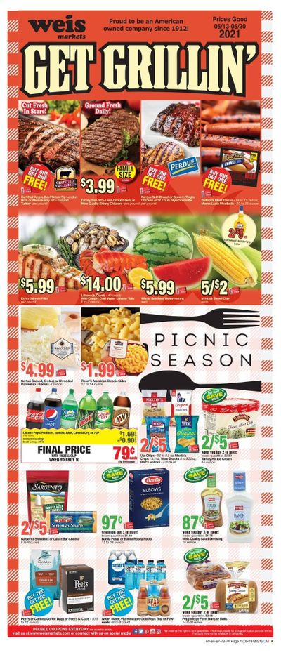 Weis (MD, NY, PA) Weekly Ad Flyer May 13 to May 20