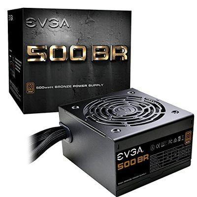 EVGA 500 BR, 80+ Bronze 500W, 3 Year Warranty, Power Supply 100- BR-0500-K1 100-BR-0500-K1 $44.99 (Reg $68.98)