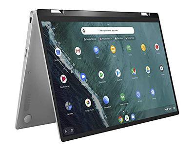 "Asus C434TA-DSM4T ASUS Chromebook Flip C434 2-in-1 Laptop 14"" Touchscreen Full HD 4-Way NanoEdge, Silver $549 (Reg $699.00)"