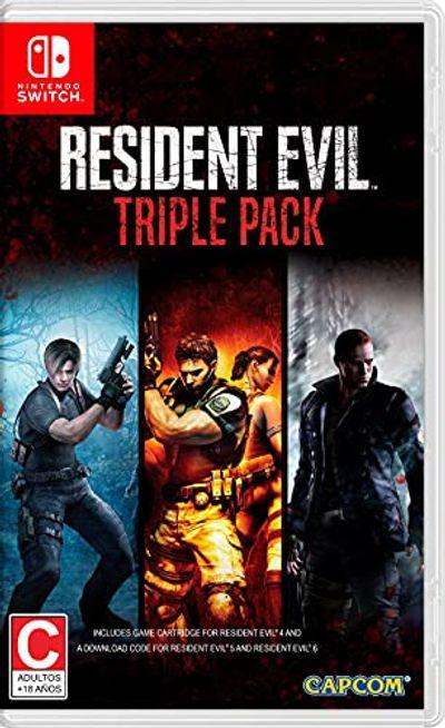 Resident Evil Triple Pack - Nintendo Switch $42.5 (Reg $46.95)