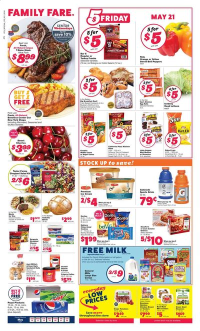 Family Fare (MI) Weekly Ad Flyer May 16 to May 22