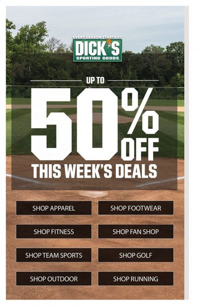 DICK'S Weekly Ad Flyer May 16 to May 22