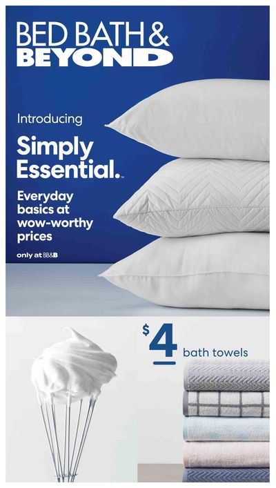 Bed Bath & Beyond Flyer May 10 to August 29