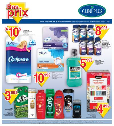 Clini Plus Flyer May 27 to June 9