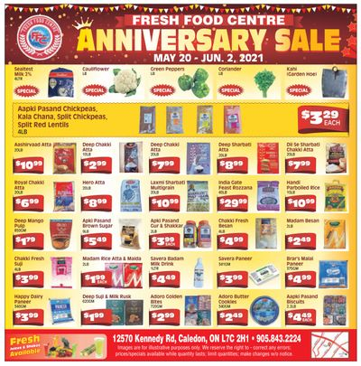 Fresh Food Centre Flyer May 20 to June 2
