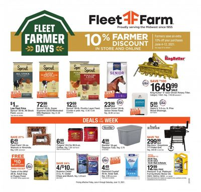 Fleet Farm (IA, MN, ND, WI) Weekly Ad Flyer June 4 to June 12