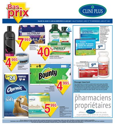 Clini Plus Flyer June 10 to 23