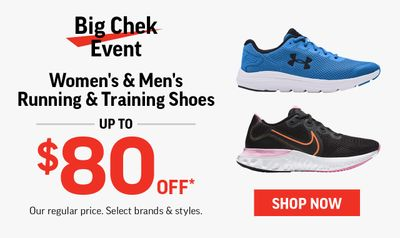 Sport Chek Canada The BIG Chek Event is Here!