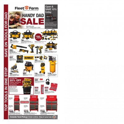 Fleet Farm (IA, MN, ND, WI) Weekly Ad Flyer June 11 to July 10