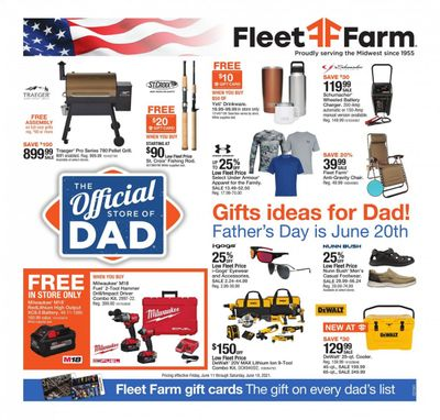 Fleet Farm (IA, MN, ND, WI) Weekly Ad Flyer June 11 to June 19