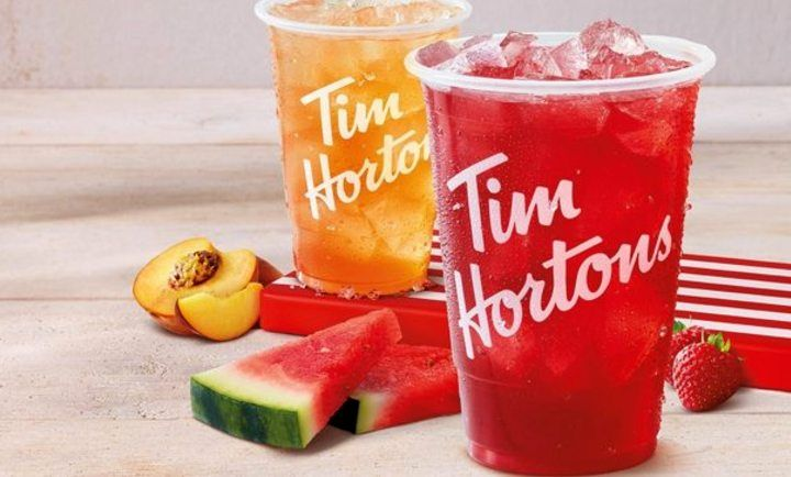 Real Fruit Quenchers! at Tim Hortons