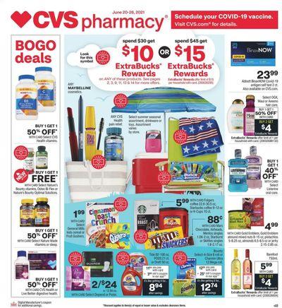 CVS Pharmacy Weekly Ad Flyer June 20 to June 26