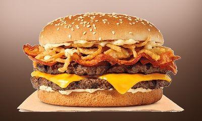 Roasted Garlic King  at Burger King