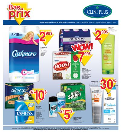 Clini Plus Flyer June 24 to July 7