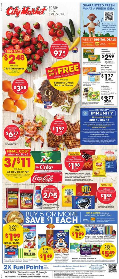 City Market (CO, UT, WY) Weekly Ad Flyer June 23 to June 29