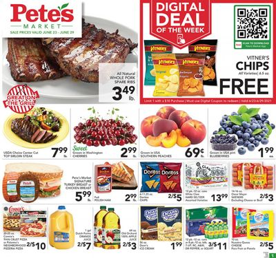 Pete's Fresh Market (IL) Weekly Ad Flyer June 23 to June 29