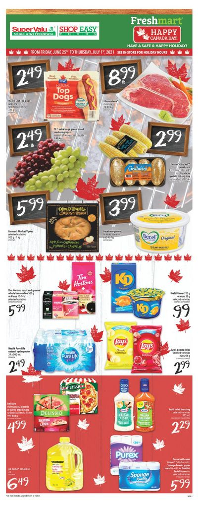 Shop Easy & SuperValu Flyer June 25 to July 1