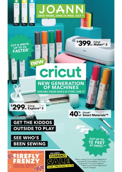 JOANN Weekly Ad Flyer June 24 to July 7