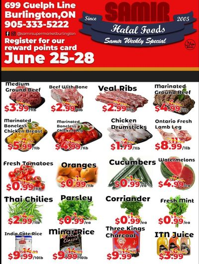 Samir Supermarket Flyer June 25 to 28