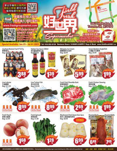 Field Fresh Supermarket Flyer June 25 to July 1