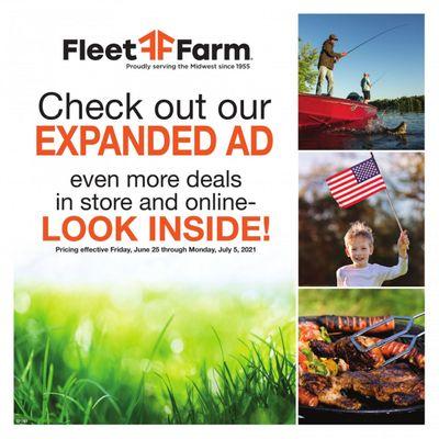 Fleet Farm (IA, MN, ND, WI) Weekly Ad Flyer June 25 to July 5