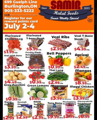 Samir Supermarket Flyer July 2 to 4