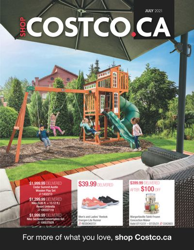 Costco Online Catalogue July 1 to 31