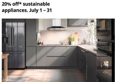 IKEA Canada Sale: Save 20% off Sustainable Appliances