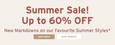 Rockport Canada Summer Sale: Save Up to 60% OFF Many Summer Styles + Up to 70% OFF Outlet
