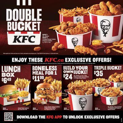 KFC Canada Coupons (NL & Labrador), until September 5, 2021
