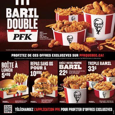 KFC Canada Coupons (QC), until September 5, 2021