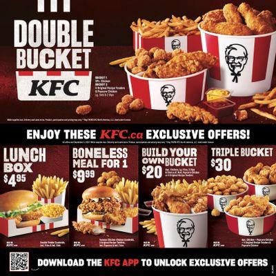 KFC Canada Coupons (QC, Gatineau), until September 5, 2021