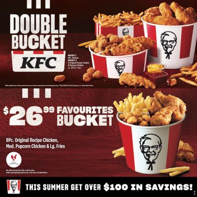 KFC Canada Coupons (YT), until September 5, 2021