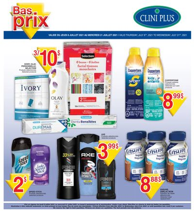 Clini Plus Flyer July 8 to 21
