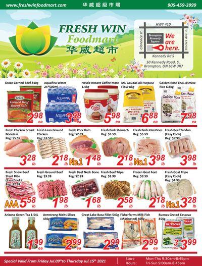Fresh Win Foodmart Flyer July 9 to 15