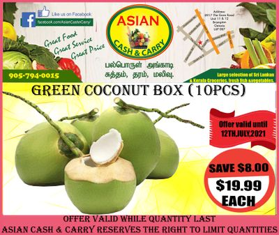 Asian Cash & Carry Flyer July 9 to 15