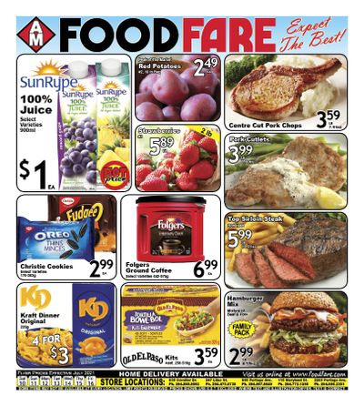 Food Fare Flyer July 10 to 16