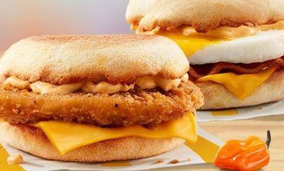 SPICY MORNING! at McDonald's Canada