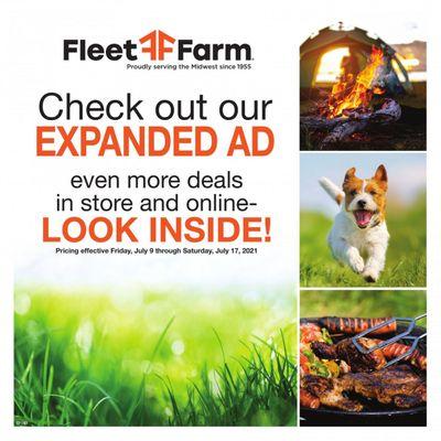 Fleet Farm (IA, MN, ND, WI) Weekly Ad Flyer July 9 to July 17