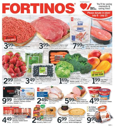 Fortinos Flyer July 15 to 21